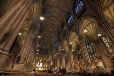 Interior of St Patrick's Cathedral, Manhattan by EvanTravels