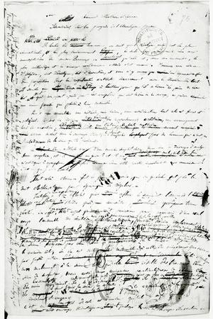 Manuscript on the Advances Made in Pure Analysis, C.1830
