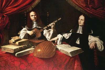 Alessandro and Bonifacio Agliardi, Right Panel of Agliardi Triptych