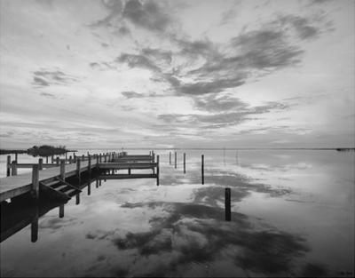 Dock Sunset by Eve Turek