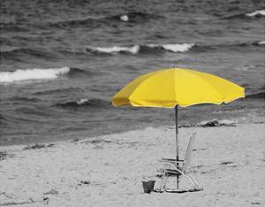 Sunny Umbrella by Eve Turek