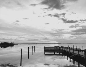 Sunset Pier by Eve Turek