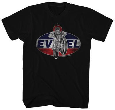 Evel Knievel- Distressed Oval Patch