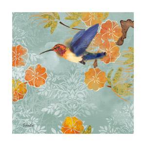 Blue Aurora I by Evelia Designs