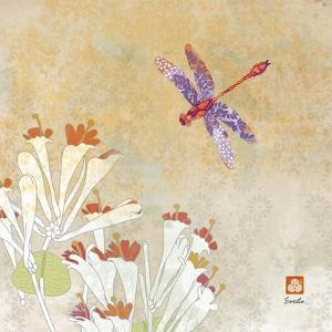 Dragonfly Lustre I by Evelia Designs
