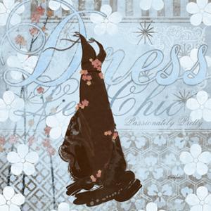 Haute in Blue II by Evelia Designs