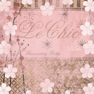 Haute in Pink I by Evelia Designs