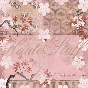 Haute in Pink III by Evelia Designs