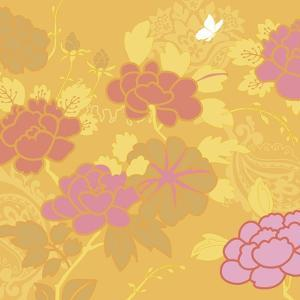 May's Roses I by Evelia Designs