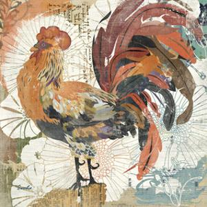 Rooster Flair II by Evelia Designs
