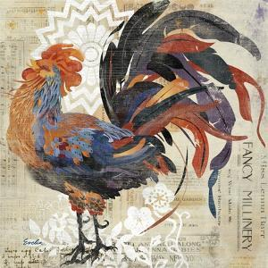 Rooster Flair V by Evelia Designs
