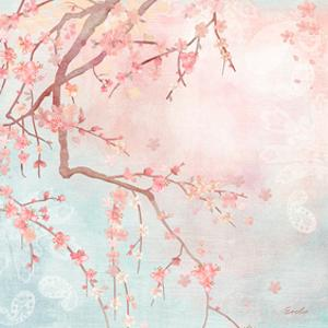Sweet Cherry Blossoms IV by Evelia Designs