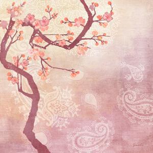 Sweet Cherry Blossoms V by Evelia Designs