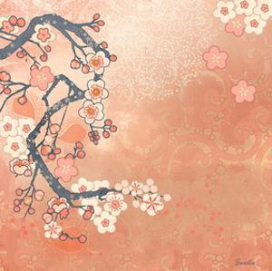 Tokyo Cherry I by Evelia Designs
