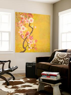 Tokyo Cherry IV by Evelia Designs