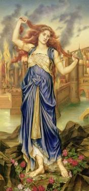 Cassandra, 1898 by Evelyn De Morgan