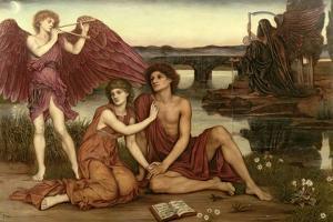 Love's Passing, 1883-84 by Evelyn De Morgan