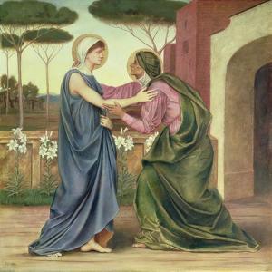 Salutation or the Visitation, 1883 by Evelyn De Morgan