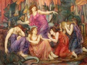 The Captives by Evelyn De Morgan