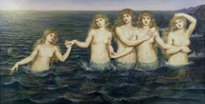 The Sea Maidens, 1885-86 by Evelyn De Morgan
