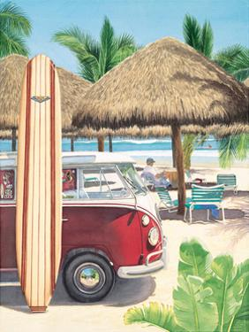 Van, Surf, and Sand by Evelyn Jenkins-Drew