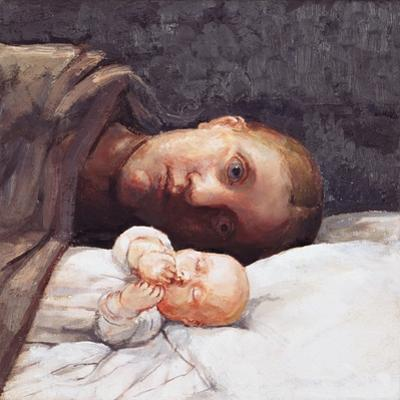 Mother and Baby Resting 2, 1996 by Evelyn Williams