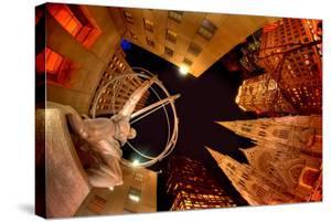Evening at Rockefeller Center