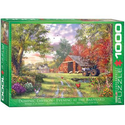 Evening at the Barnyard by Dominic Davison 1000 Piece Puzzle