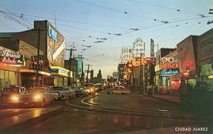 Evening in Tijuana, Mexico, Fifties