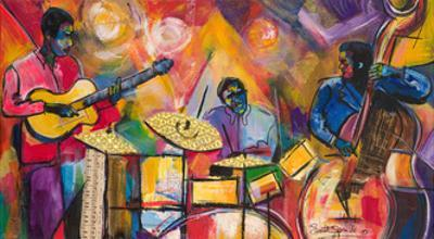 Jazz Trio by Everett Spruill
