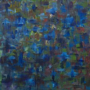 Mixed Emotions in Blue I by Everett Spruill