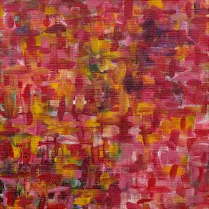 Mixed Emotions in Red I by Everett Spruill
