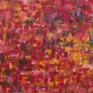 Mixed Emotions in Red II by Everett Spruill