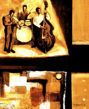Musical Trio I by Everett Spruill