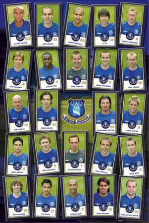Everton Squad 2005-2006