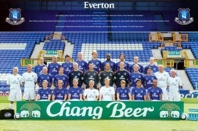 Everton Team Photo 2005-2006