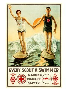 Every Boy Scout a Swimmer