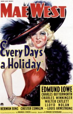 Every Day's a Holiday, Mae West, 1937