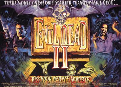 Evil Dead II, Bruce Campbell, 1987