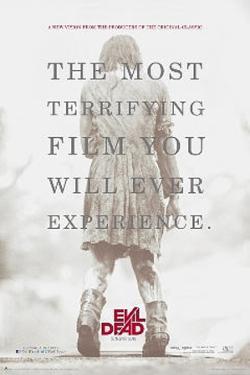 Evil Dead - Terrifying 2013 Movie Poster