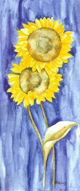 Sunflower Triptych I by Evol Lo
