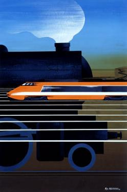 Evolution Locomotive Bullet Train