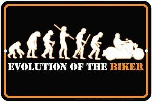 Evolution Of The Biker