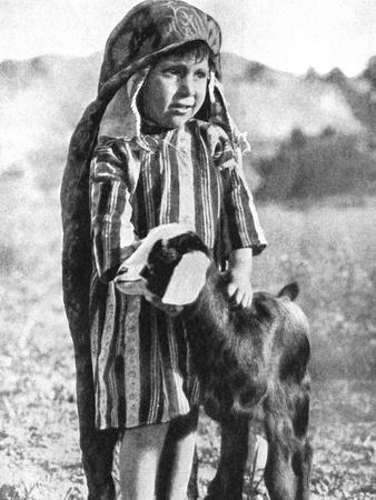 Tunisian Boy in the Sahara Desert, 1936