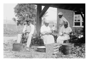 Ex-Slaves on Plantation