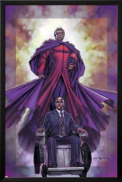 Excalibur No.4 Cover: Magneto and Professor X