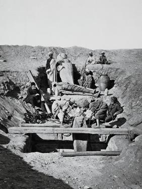 Excavation of a Tomb at Saqqarah
