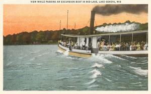 Excursion Boat, Lake Geneva, Wisconsin