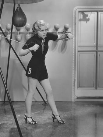 Exercising in High-Heel Sandals