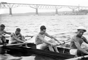Exhausted Rowers